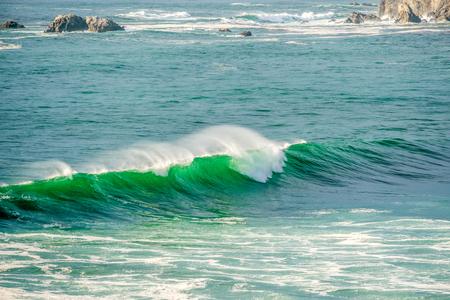 USA Pacific coast landscape, Sand Dollar Beach, Big Sur, California.