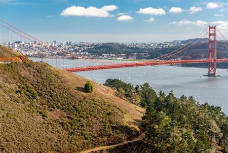 golden gate: Golden Gate Bridge, San Francisco, California, USA