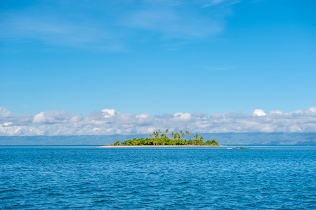 uninhabited: Beautiful tropical island at Philippines