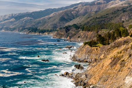 julia pfeiffer burns: USA Pacific coast landscape, Julia Pfeiffer Burns State Park, California.
