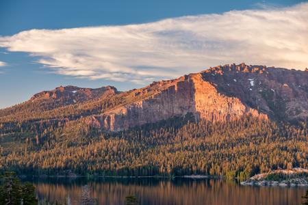 Sunset at Silver Lake - California, USA