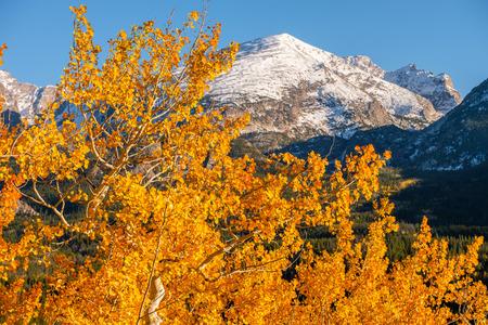 Autumn in Rocky Mountain National Park. Colorado, USA.