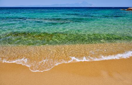 Beautiful beach in Sithonia, Greece
