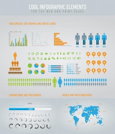 infographic elements 2 Illustration