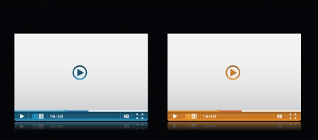touch screen interface: Media player skin