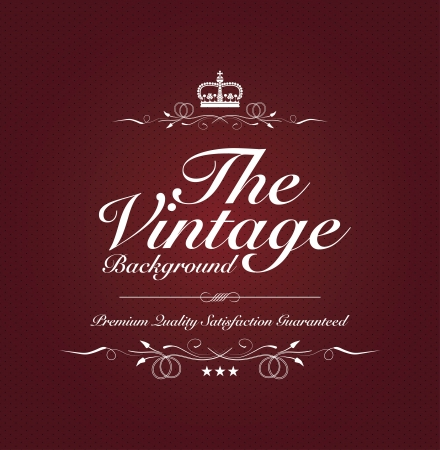 red vintage background with special text Vector