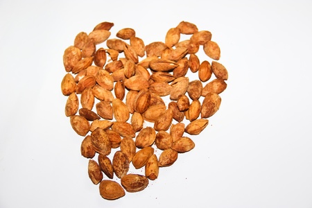 almond seed Stock Photo