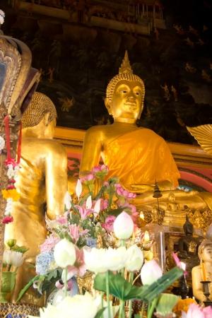 buddha in temple Stock Photo - 17964262