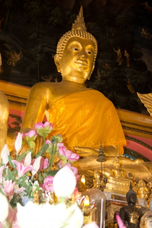 buddha in temple photo