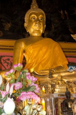 buddha in temple Stock Photo - 18033577