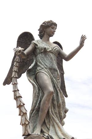 Beautiful statue of Goddess Stock Photo