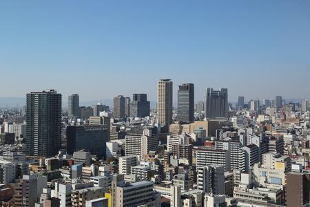 Osaka city 版權商用圖片