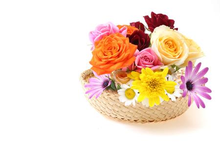 flower basket: Flower basket
