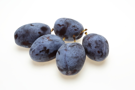 Prunes o white surface