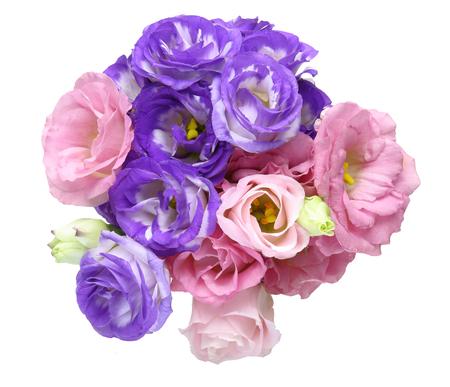 gentian flower: Bouquet of eustoma
