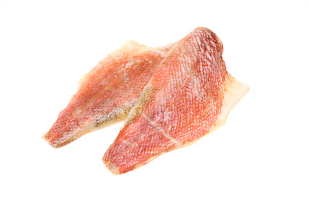 pacific: Pacific ocean perch fillet Stock Photo