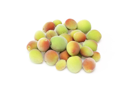 japanes: Japanes apricot Stock Photo