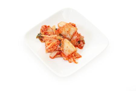 Kimchi on a dish