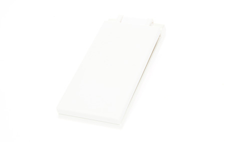 legacy: Legacy mobile phone in a white background Stock Photo
