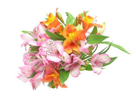 Bouquet of alstroemeria