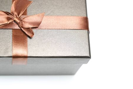 the brown gift box with the riccon