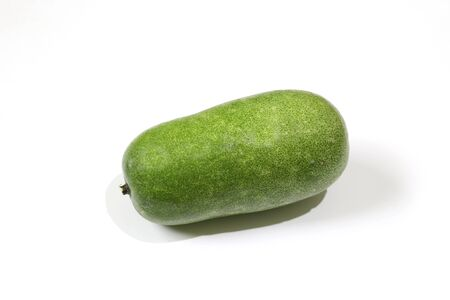 a wax gourd in a white background
