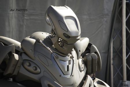 titan: titan the robot Stock Photo