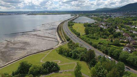 A2 Between Belfast and Carrickfergus in Co Antrim Northern Ireland