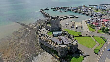 Carrickfergus Castle Co. Antrim Northern Ireland Stock Photo