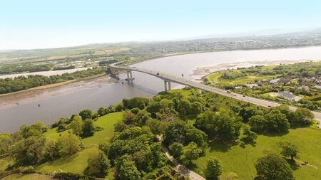Foyle Bridge in Co Derry Northern Ireland Banque d'images - 139262283