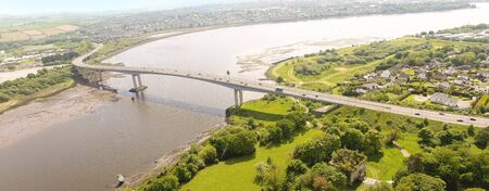 Foyle Bridge in Co Derry Northern Ireland Banque d'images - 139262284