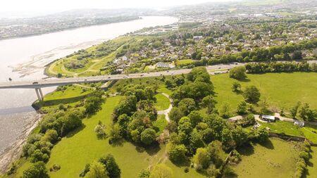 Foyle Bridge in Co Derry Northern Ireland Banque d'images - 139262285