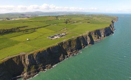 The Gobbins Cliff Path Larne Co Antrim Northern Ireland  Stock Photo