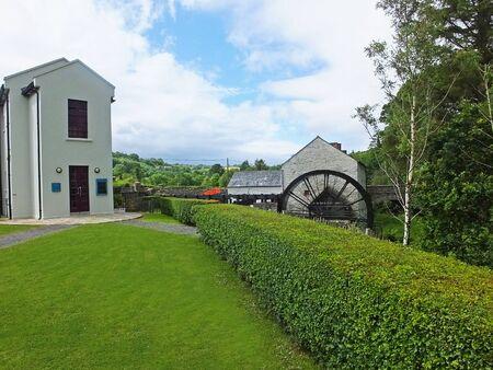 Waterwheel at a Flax Mill Ireland