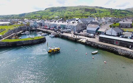 Carnlough Village & Harbour Glencloy Co Antrim Northern Ireland