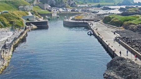 Ballintoy Harbour near Giants Causeway Co. Antrim Northern Ireland