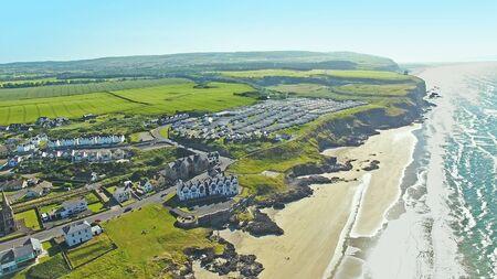 Dunseverick Castle Atlantic Ocean County Antrim, Northern Ireland