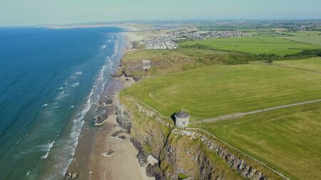 Mussenden Temple and Downhill Demesne Coleraine Co. Derry Northern Ireland