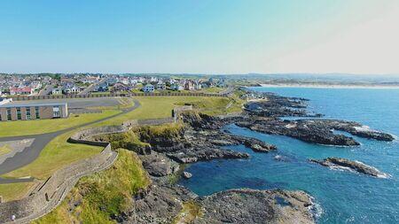 Portstewart Town Atlantic ocean north Coast Co. Antrim Northern Ireland