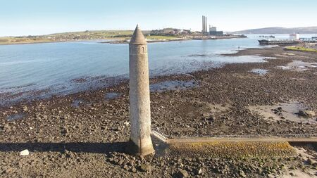Chaine Memorial Tower Giants Pencil Larne Harbour Co Antrim Northern Ireland