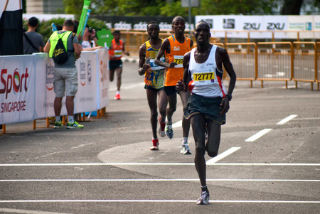 contingent: African Contingent Standard Chartered Marathon Editorial