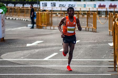 Haile Gebrselassie Standard Chartered Marathon Editorial