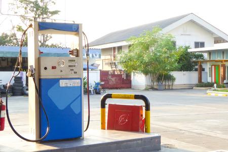 ngv: BANGKOK,THAILAND .6 FEB 2015 , NGV gas station  for fuel car at Thailand