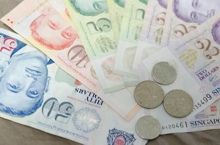 splurge: dollar singapore and coin