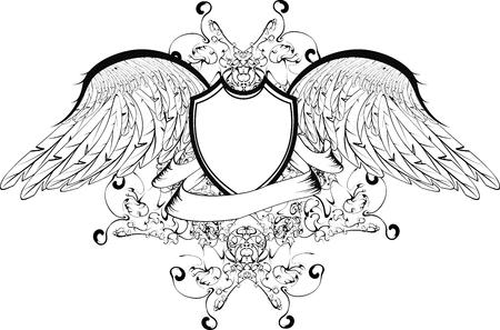 coat of arms in vector format Stock Vector - 5801727