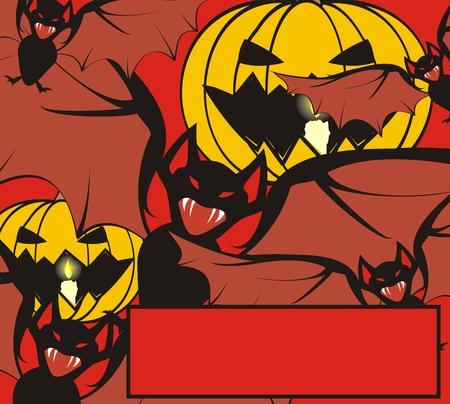 Halloween achtergrond in vector-formaat
