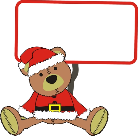 christmas costume: teddy claus