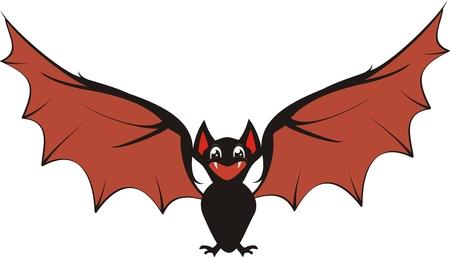 bat in vector format very easy to edit Stock Vector - 5964208