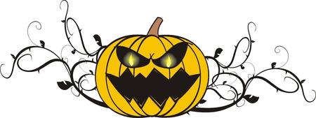 Pumpkin cartoon