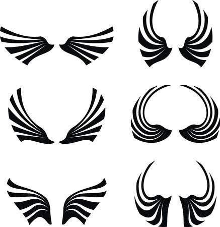 wings set pack  Иллюстрация